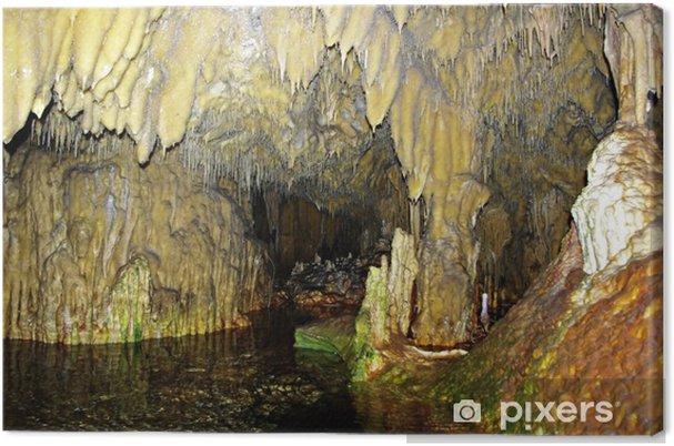 Obraz na płótnie Wewnątrz jaskini - Życie