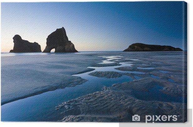 Obraz na płótnie Wharariki Beach, Nelson, Wyspa Północna, Nowa Zelandia - Woda