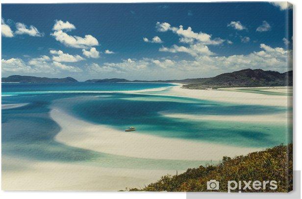 Obraz na płótnie Whitehaven Beach w Australii - Tematy