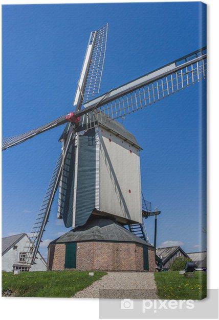 Obraz na płótnie Wiatrak holenderski de Vink - Europa