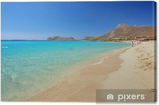 Obraz na płótnie Widok Falassarna plaży, Kreta, Grecja - Europa