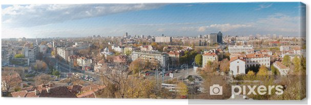 Obraz na płótnie Widok miasta Płowdiw, Bułgaria - Europa