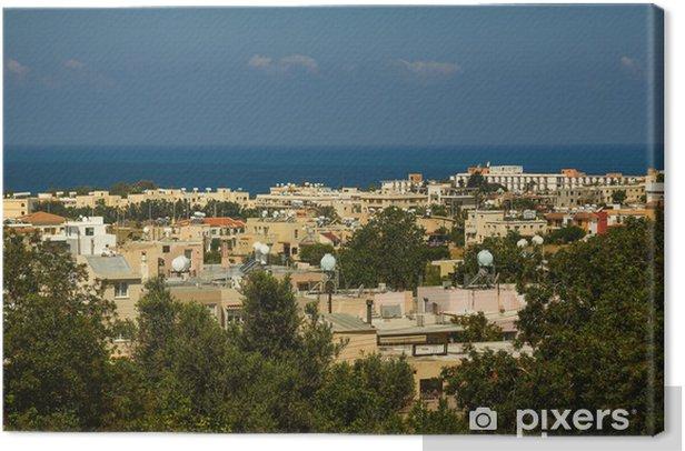 Obraz na płótnie Widok na miasto Pafos, Cypr - Europa