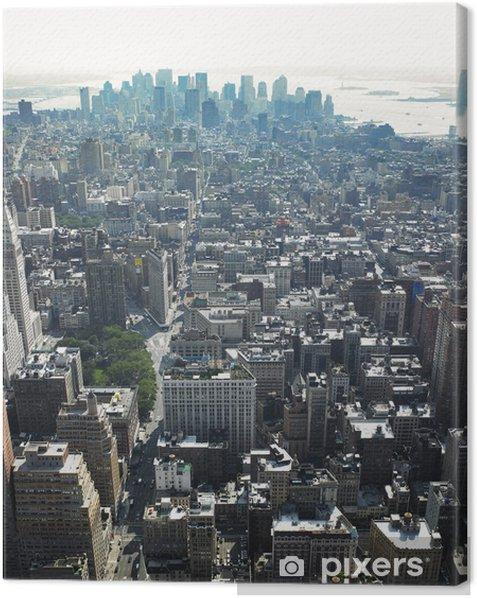 Obraz na płótnie Widok na miasto - Ameryka