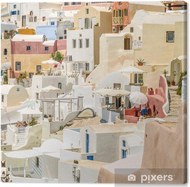 Obraz na płótnie Widok na Oia na Santorini - Europa