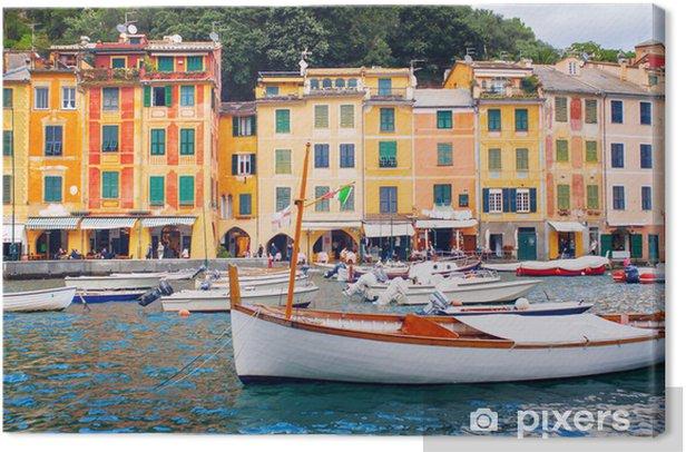 Obraz na płótnie Widok Portofino. Włochy - Europa