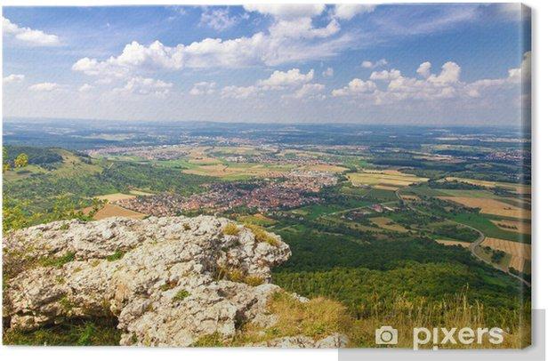 Obraz na płótnie Widok z Breitenstein, Szwabskiej - Europa