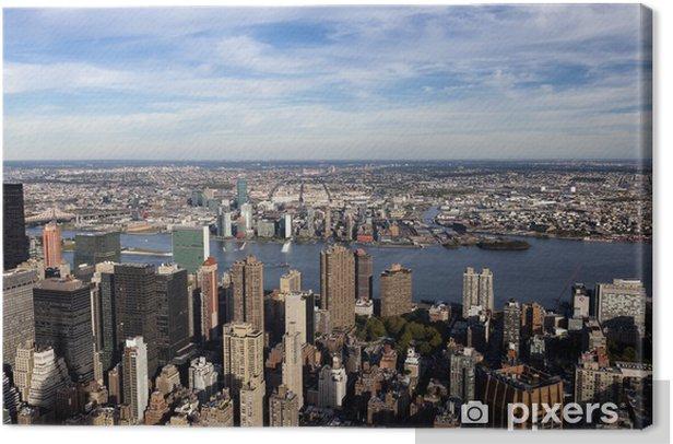 Obraz na płótnie Widok z Empire State Building na Manhattanie - Miasta amerykańskie