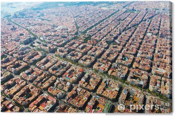 Obraz na płótnie Widok z lotu ptaka Barcelona, Katalonia - Tematy