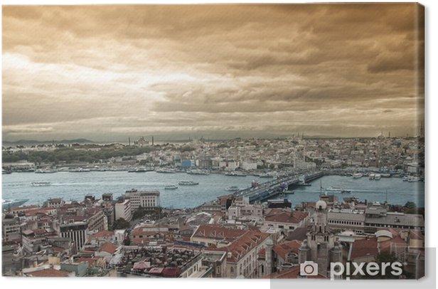 Obraz na płótnie Widok Złotego Rogu - Azja