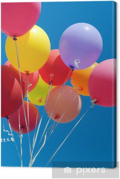 Obraz na płótnie Wielobarwny balony - Rozrywka