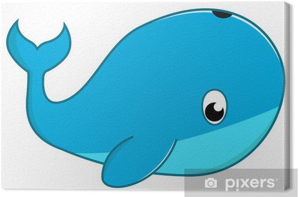 Obraz na płótnie Wieloryb - Zwierzęta żyjące pod wodą