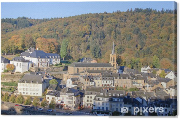 Obraz na płótnie Wieś belge - Europa