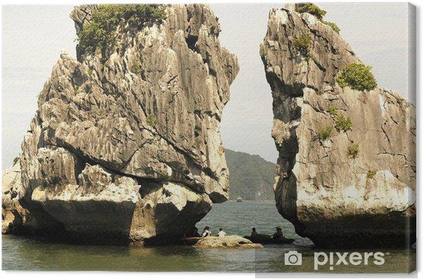 Obraz na płótnie Wietnam, mieszane zatoki: krajobraz - Azja