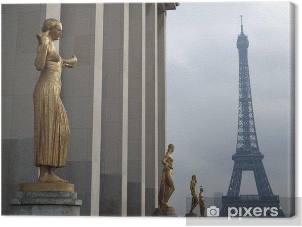Obraz na płótnie Wieża Eiffla, Paryż, Francja - Miasta europejskie