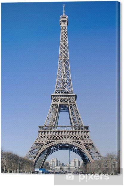 Obraz na płótnie Wieża Eiffla (Tour Eiffel) w Paryżu - Miasta europejskie