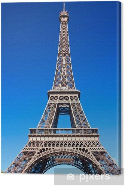 Obraz na płótnie Wieża Eiffla w Paryżu - Miasta europejskie