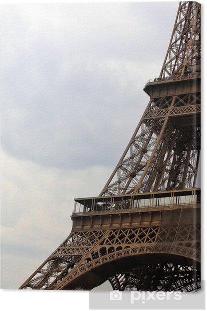 Obraz na płótnie Wieża Eiffla - Miasta europejskie