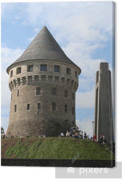 Obraz na płótnie Wieża, legowiska, Brest, miasto, Bretania, Finistere, północ - Czas