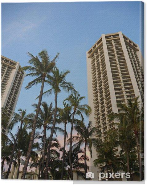 Obraz na płótnie Wieżowce w Hawajach - Tematy
