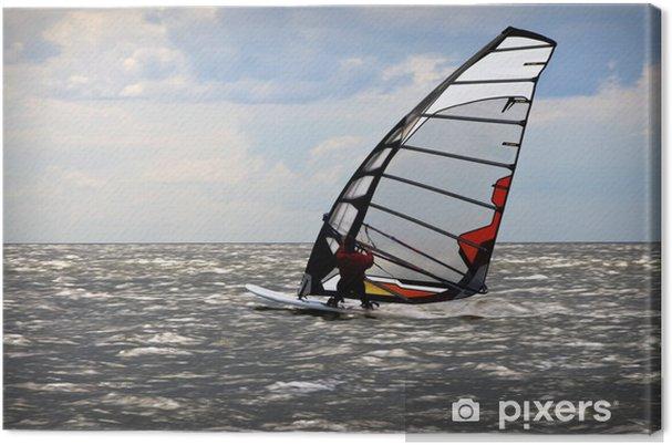 Obraz na płótnie Windsurfing wydarzenie w Bałtyku - Sporty wodne
