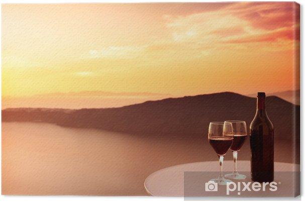 Obraz na płótnie Wine Red Sunset - Tematy