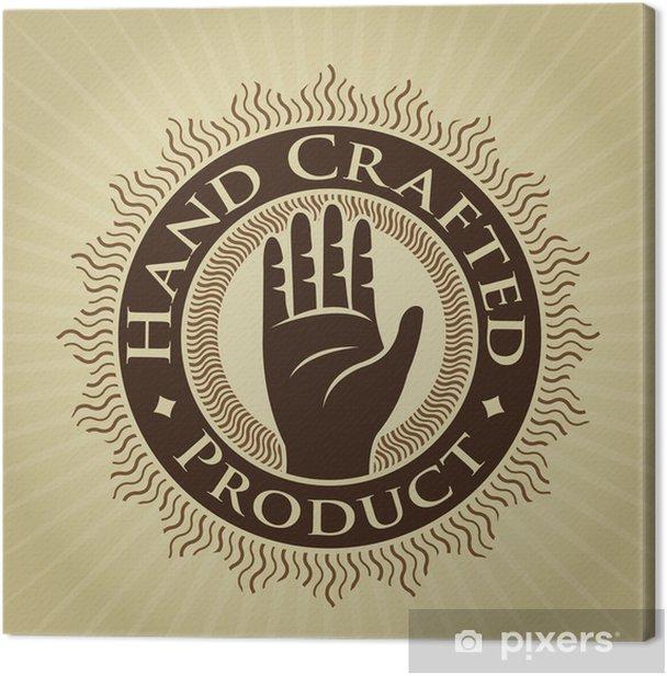 Obraz na płótnie Winobrania stylem Rękodzieło Seal wyrobów / Wytwórnia - Przemysł ciężki