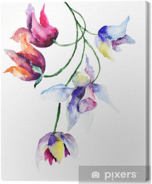 Obraz na płótnie Wiosenne kwiaty - Kwiaty