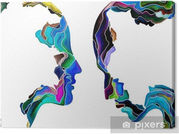 Obraz na płótnie Wirtualny Własna Fragmentacja -