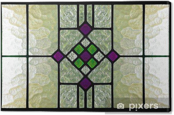 Obraz na płótnie Witraż - Tekstury