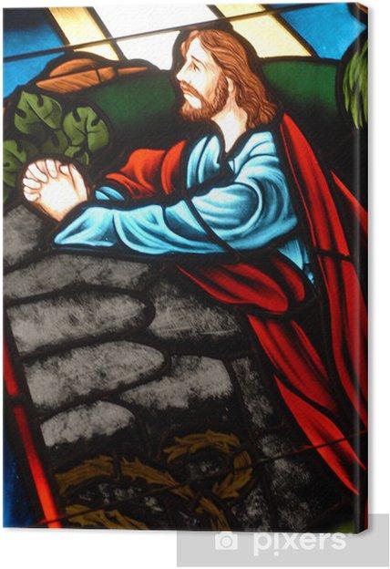 Obraz na płótnie Witraż - Religie