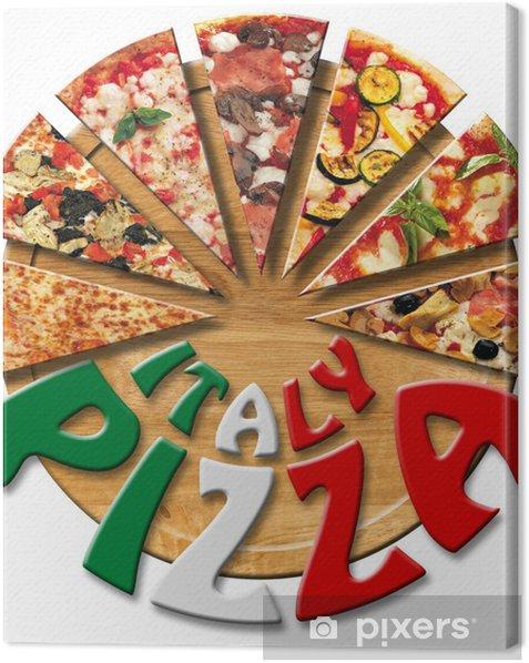 Obraz na płótnie Włochy Pizza na pokładzie rozbioru - Posiłki