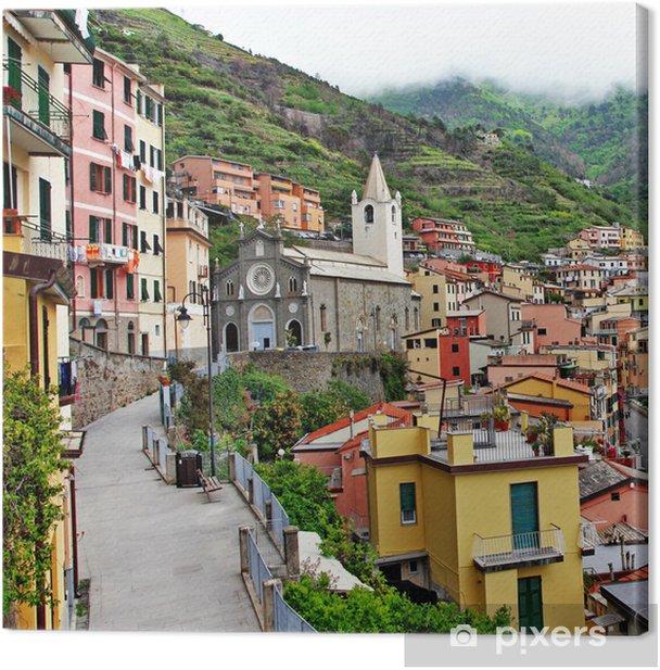 Obraz na płótnie Włoski dekoracje - Riomaggiore wieś - Europa