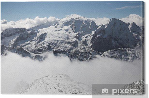 Obraz na płótnie Włoskie Dolomity - Marmolada - Europa