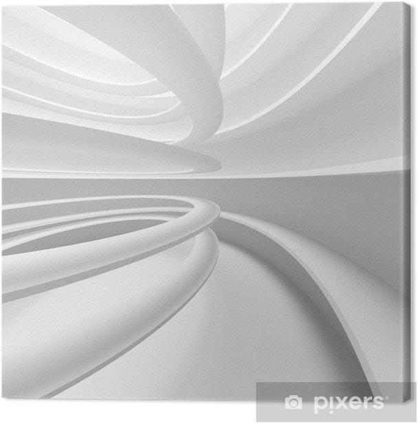 Obraz na płótnie Wnętrze nowoczesnych tła 3D - Style