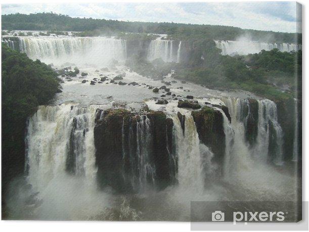 Obraz na płótnie Wodospady Iguaçu od strony brazylijskiej - Tematy