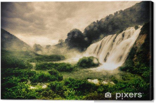 Obraz na płótnie Wodospady marmore - Tematy