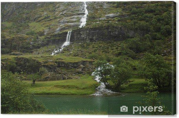 Obraz na płótnie Wodospady w Norwegii - Tematy