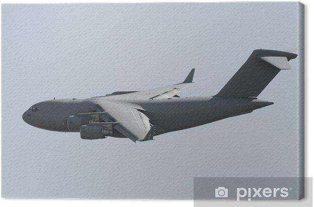 Obraz na płótnie Wojskowy samolot transportowy - Transport powietrzny