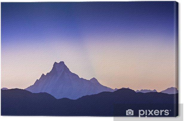 Obraz na płótnie Wschód słońca w Himalajach - Natura i dzicz