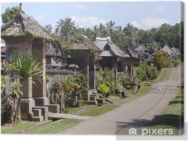 Obraz na płótnie Wsi Bali - Pejzaż miejski