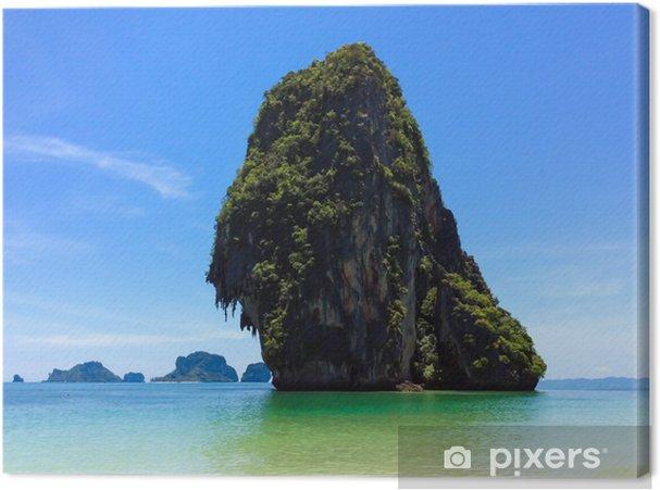 Obraz na płótnie Wspaniała tropikalna wyspa w Tajlandii - Wyspy