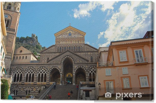 Obraz na płótnie Wybrzeże Amalfi - Amalfi Duomo - Europa