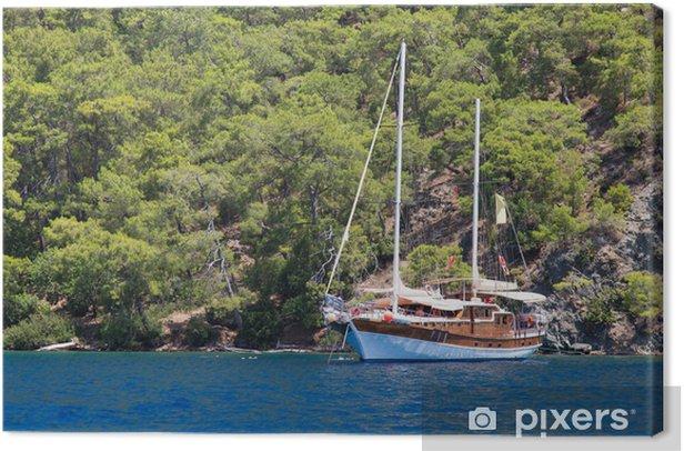 Obraz na płótnie Wybrzeże Egejskie. - Wakacje