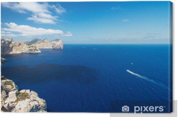 Obraz na płótnie Wybrzeże w pobliżu Cape Formentor na Majorce Hiszpania - Tematy