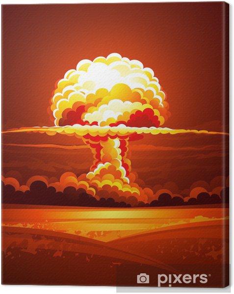 Obraz na płótnie Wybuch nuklearny - Życie