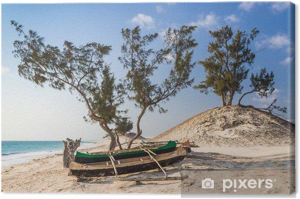 Obraz na płótnie Wydmy i dzikiej plaży - Wakacje