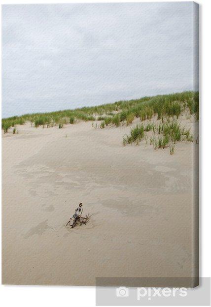 Obraz na płótnie Wydmy na Norderney, Niemcy - Woda