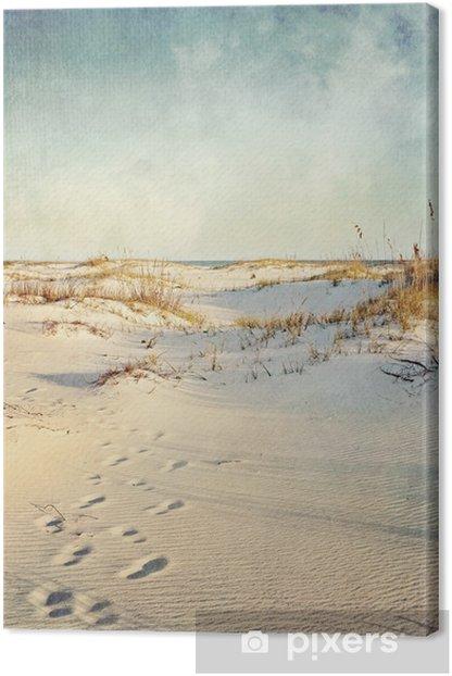 Obraz na płótnie Wydmy w Sunset teksturą obrazu - Wakacje
