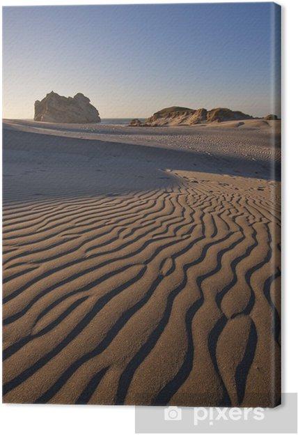 Obraz na płótnie Wydmy w Wharariki Beach, Nowa Zelandia - Cuda natury